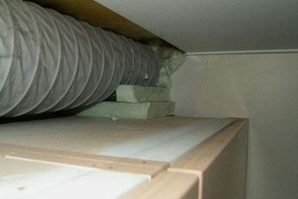 Zorg voor de afvoerbuizen van uw dampkap