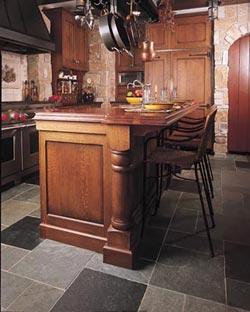 Kunst en ambachtelijke keuken stijl