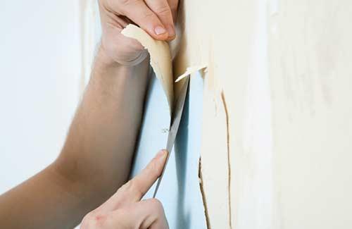 Behangpapier verwijderen in 5 stappen